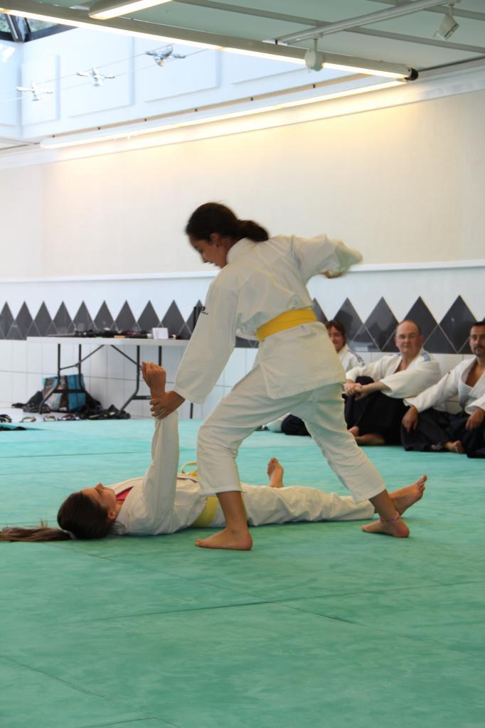 Self defense avec balayage