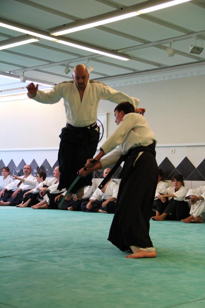 Esquive sur Self Defense contre Katana