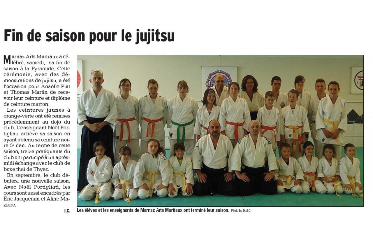 Article Dauphiné Libéré - 23 Juin 2015